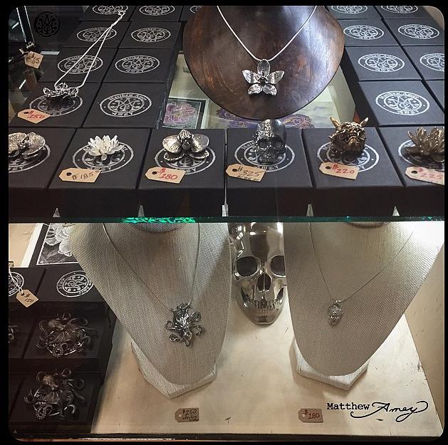 Jewelry design by Matthew Amey