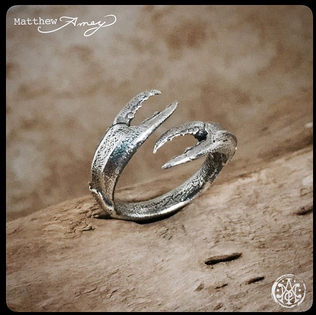 Crab Claw in Sterling Silver