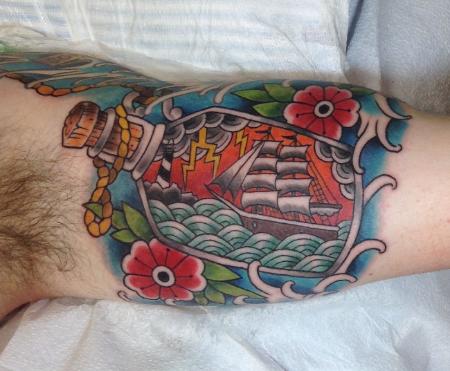 Ship in a Bottle by James Delzel