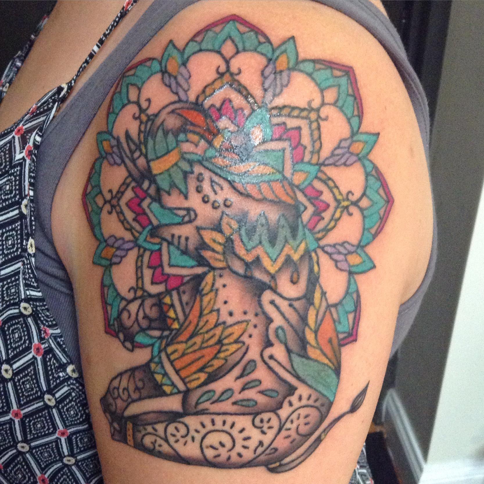 Tattoo by Martina Major.