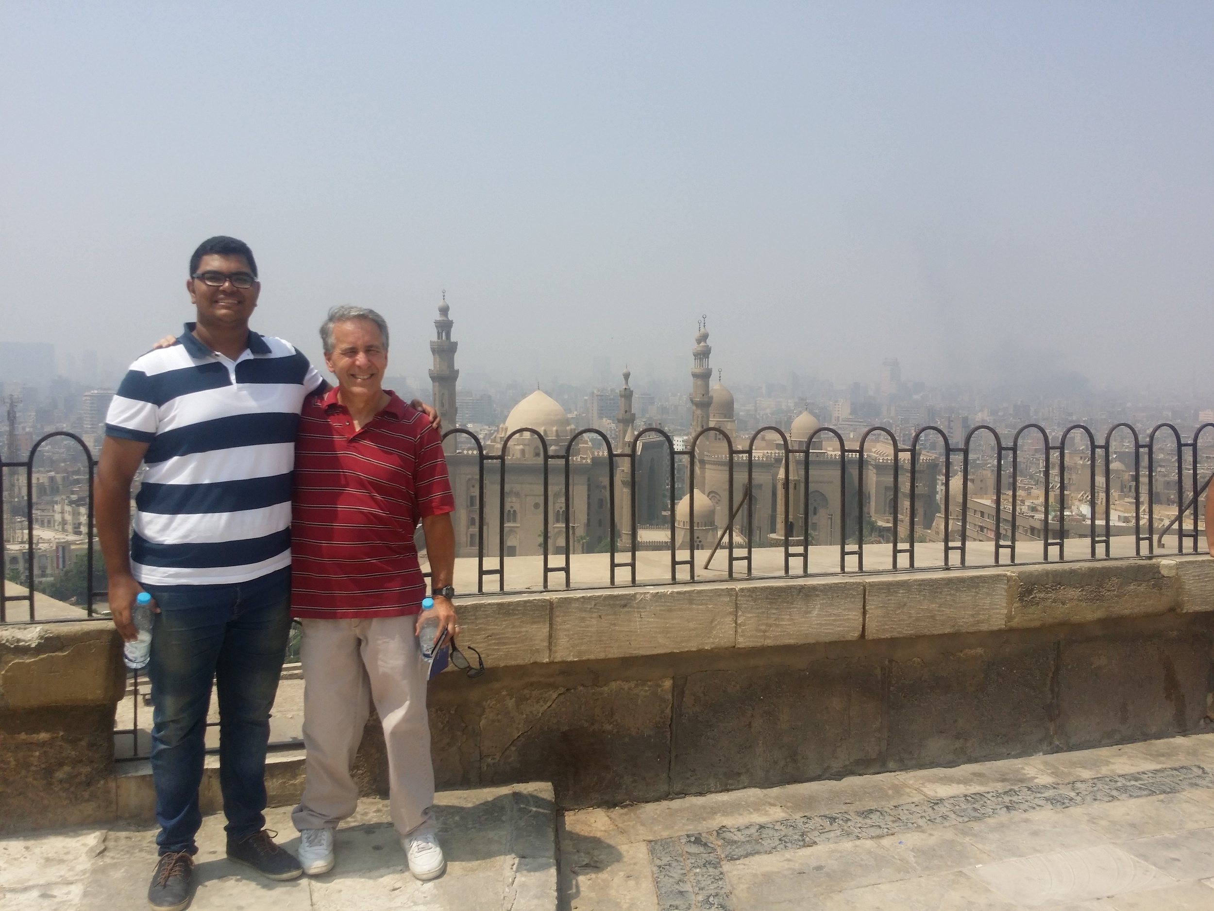 On the day of my departure, one of the young Christian leaders, who I had served beside during my time there, led us to the local citadel for a quick tour.