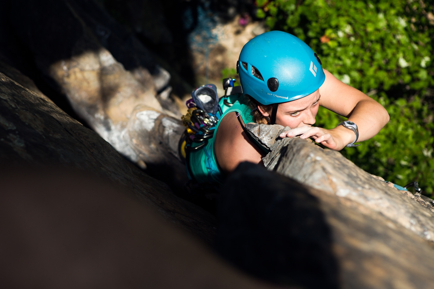 Student, Harper Tice leading Butterfly Flake, 5.7.