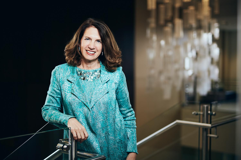 Portrait of Shenandoah University President, Tracy Fitzsimmons.
