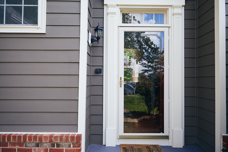 exterior entryway shot avoiding greenery