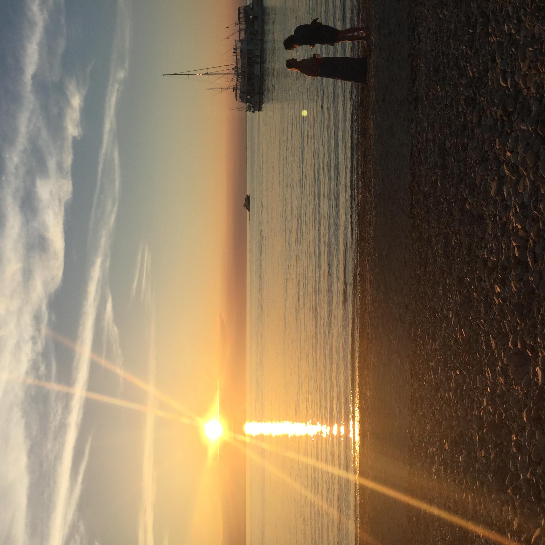 Sunset @ Navy Beach