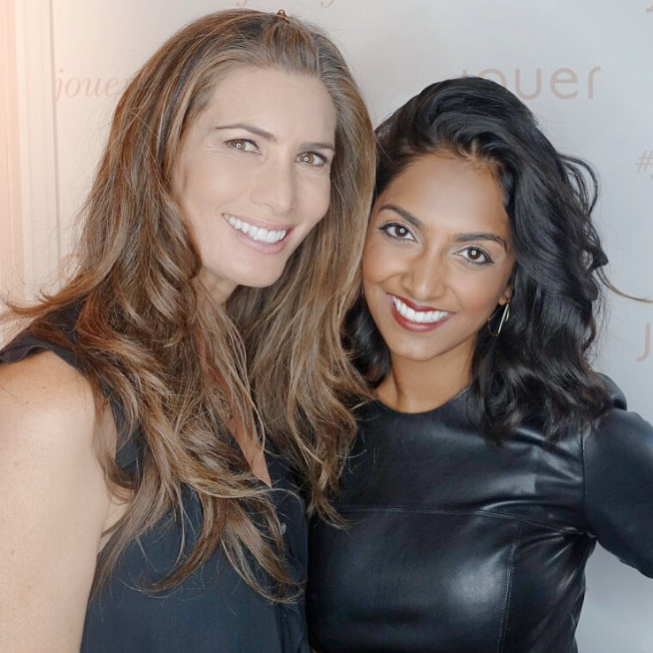 Christina Zilber - Founder of Jouer Cosmetics/my now fairy godmother & good friend