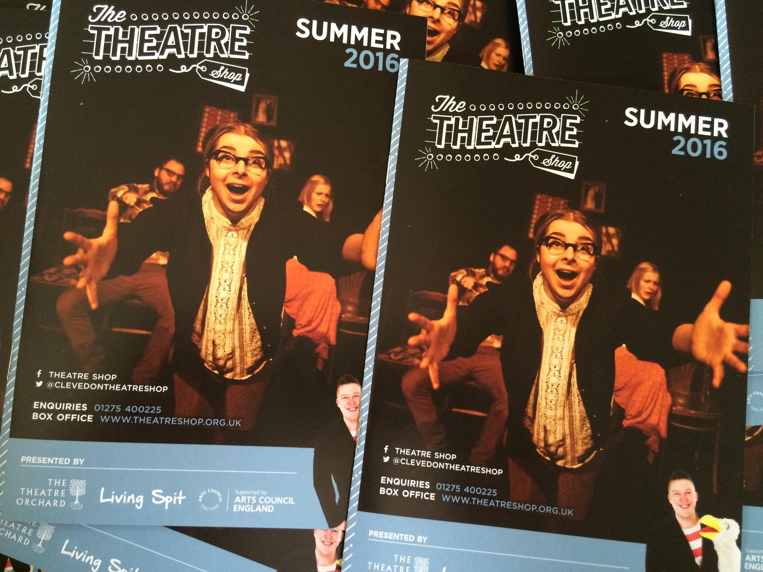 Theatre Shop Brochures Summer 2016