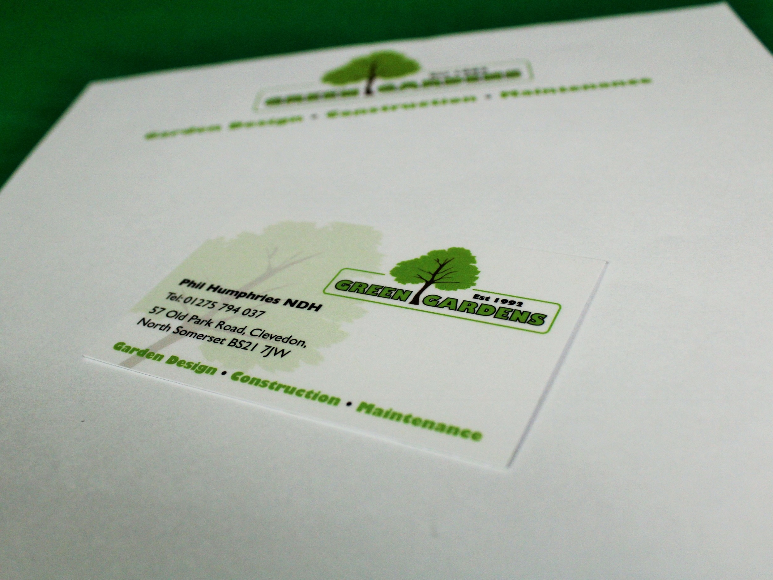 Business Cards and Headed Paper