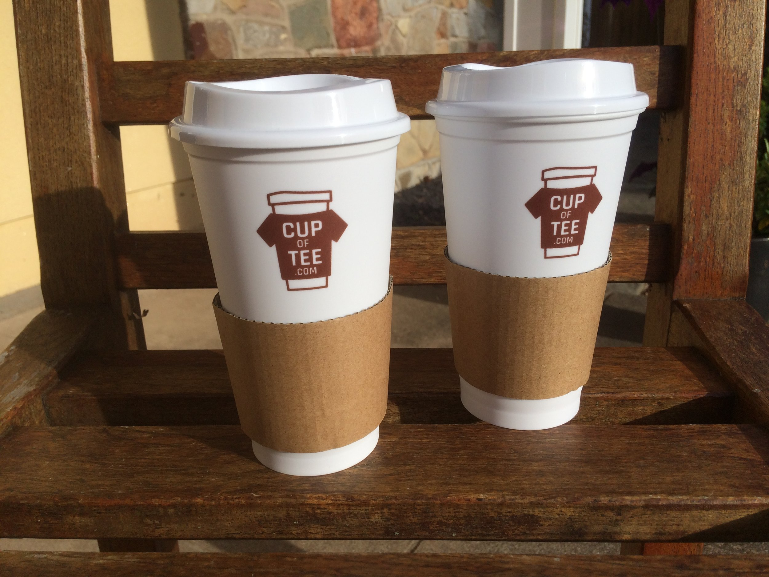 Promotional Take-Out Style Cups