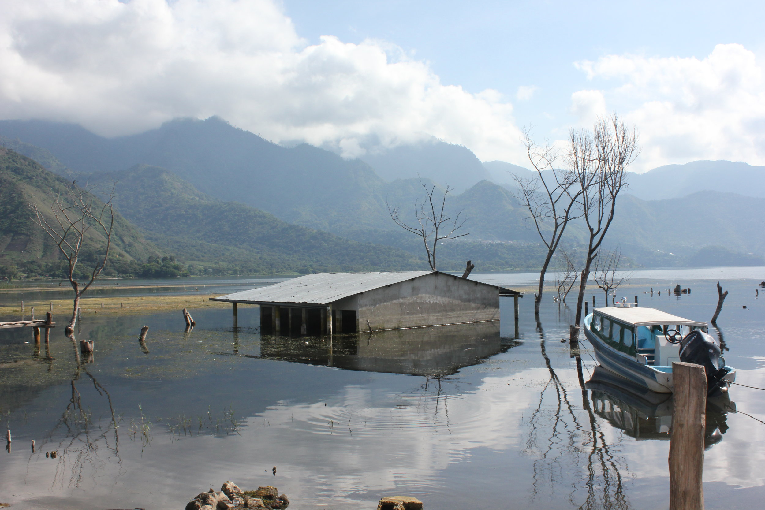 Lake Atican in Guatemala, Central America