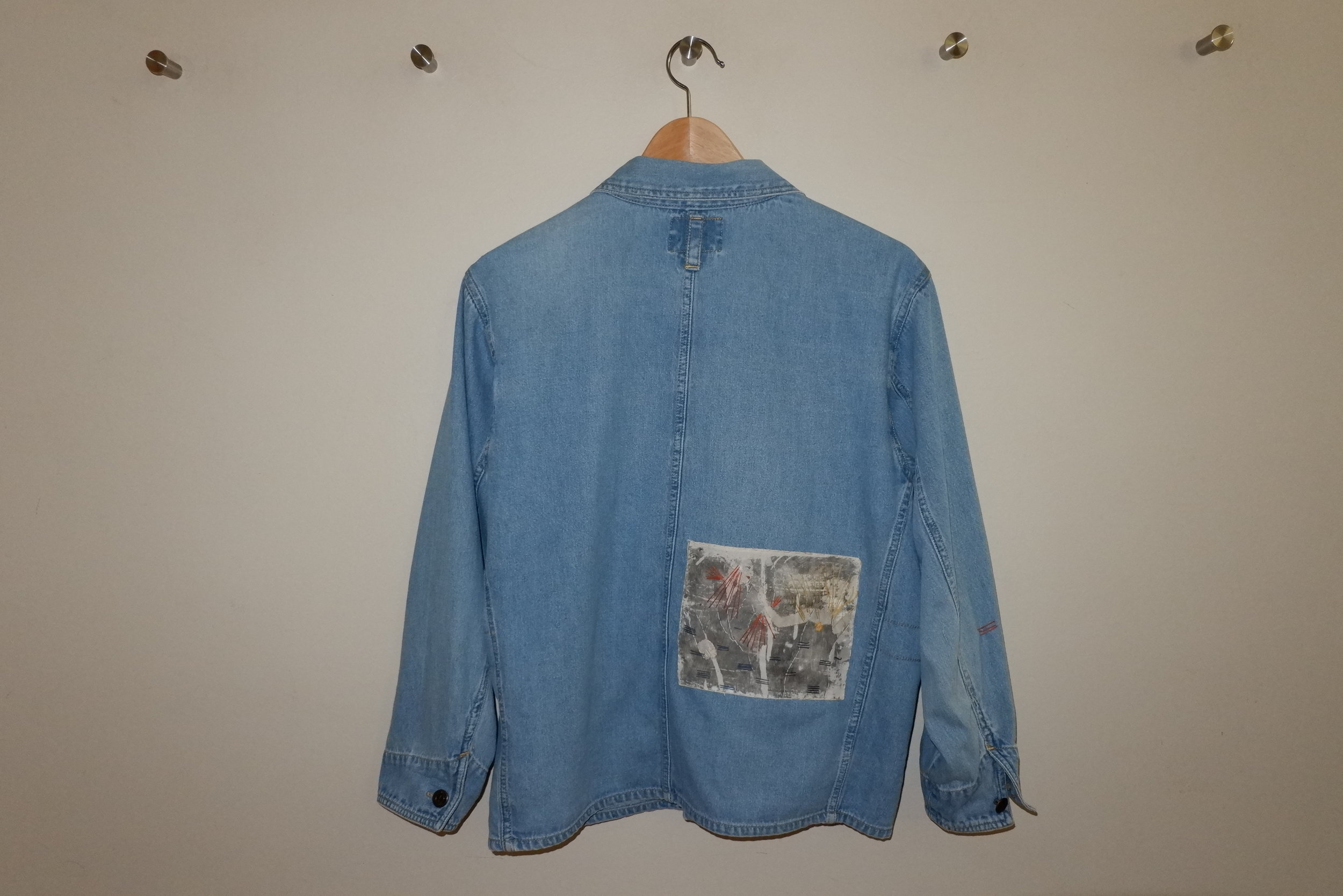 DANCING COUPLE DENIM JACKET