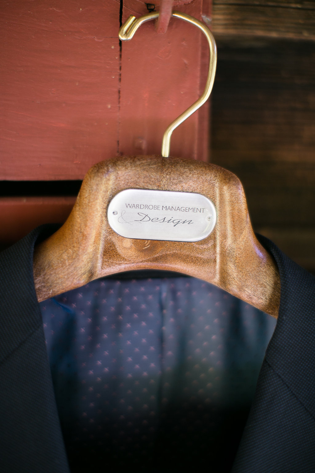 Photocredit: Karlo Photography                   There's no better opportunity to have your own custom suit created                                                                              than your big day.  We especially love the fun lining this groom chose.