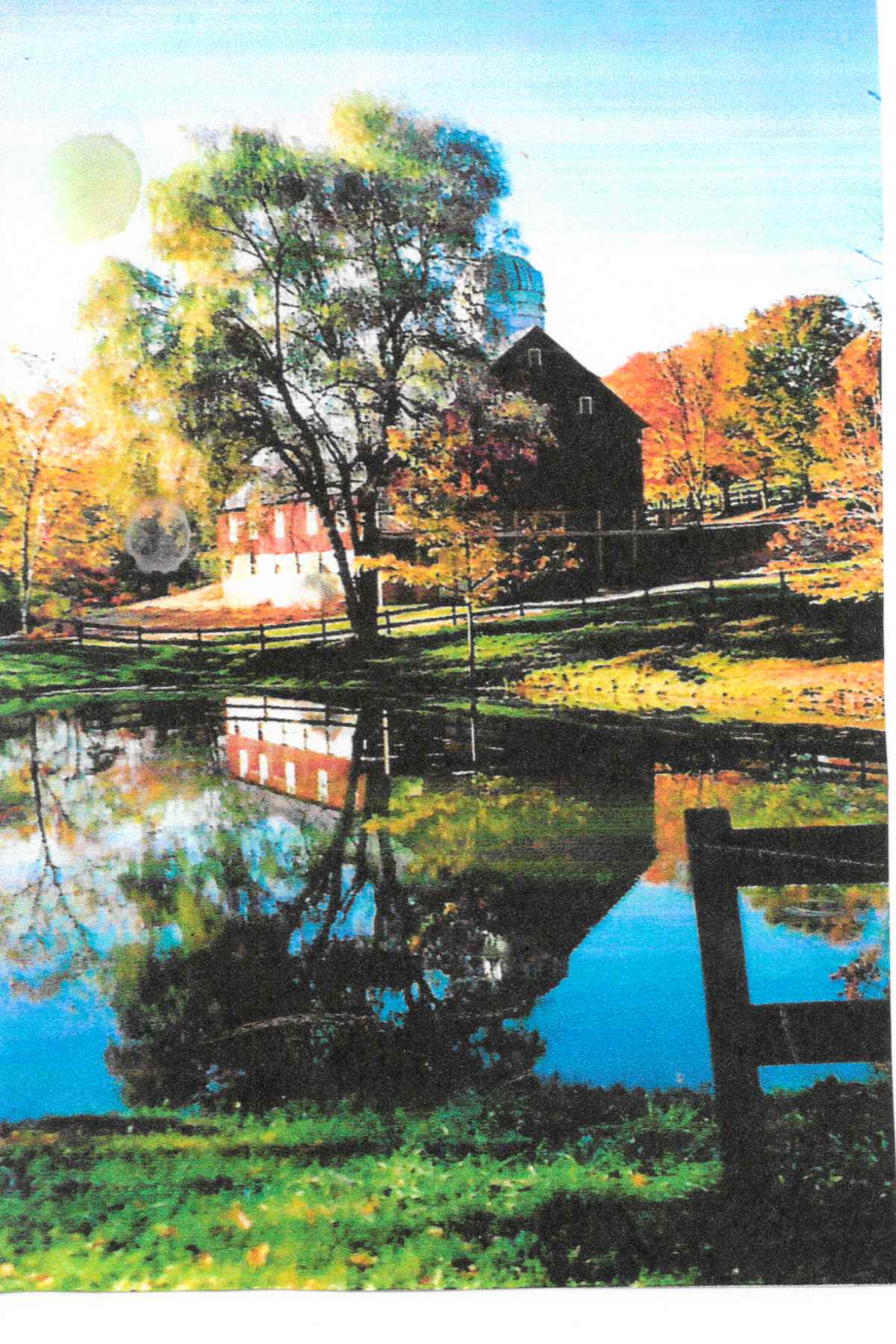 Chanteclaire Farm in the early 2000s