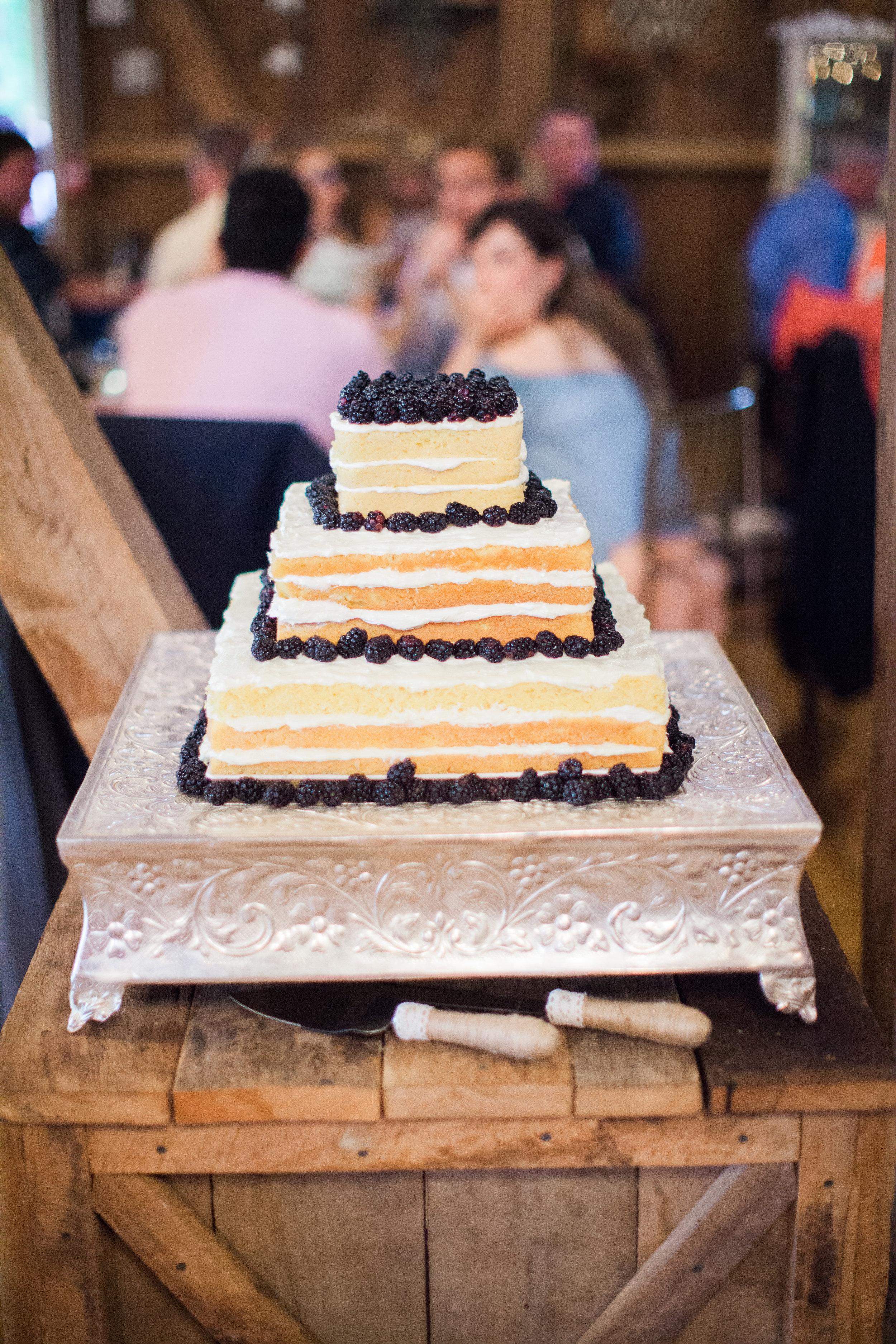 Berry Cake (Photo Credit: Derek+Diane)