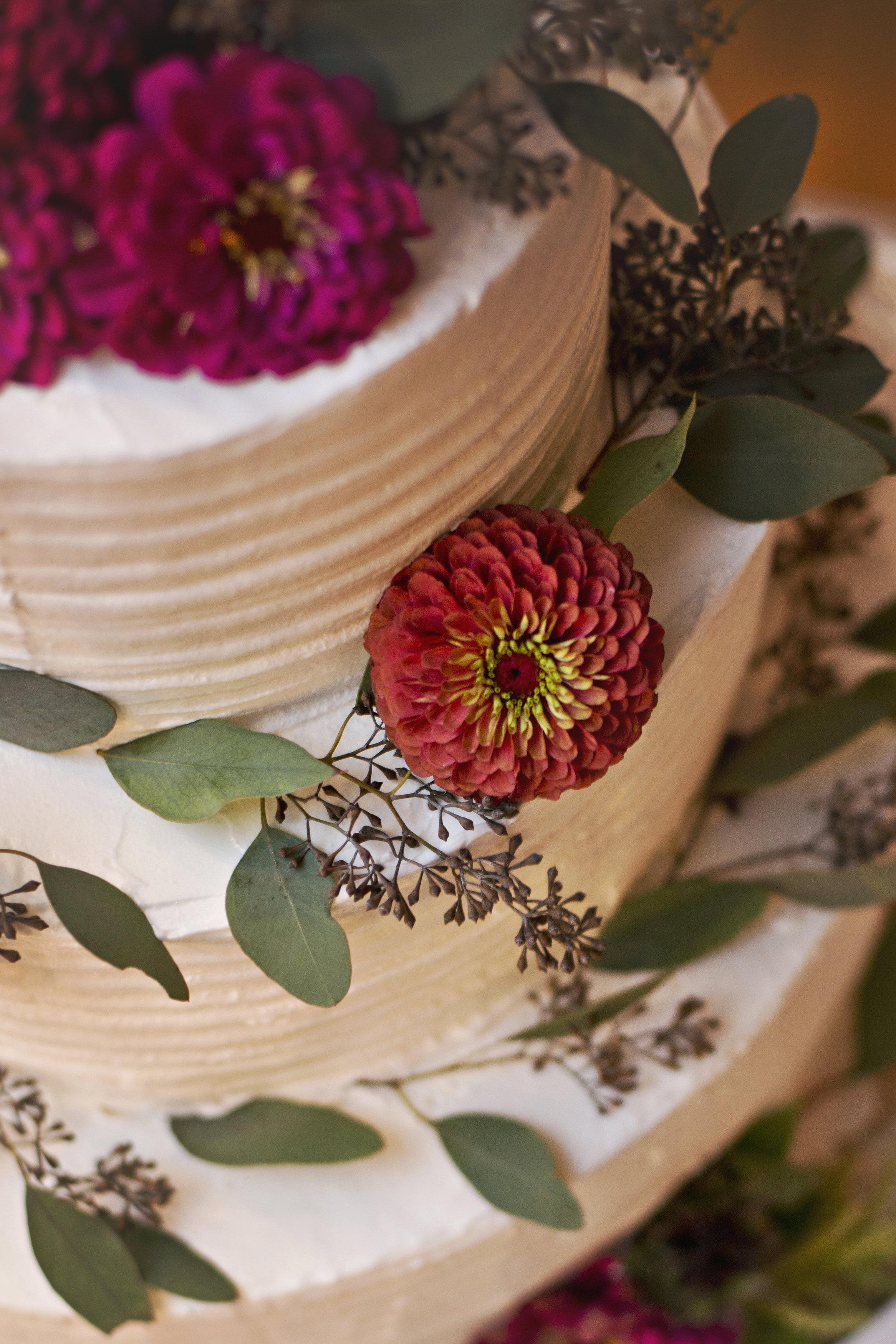 White Cake (Photo Credit: Amanda Ivy Photography)