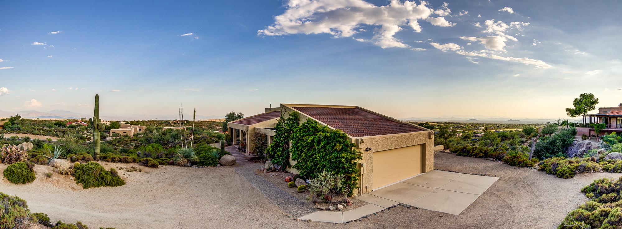 11441 East Cottontail Road, Cave Creek, Arizona - Panorama