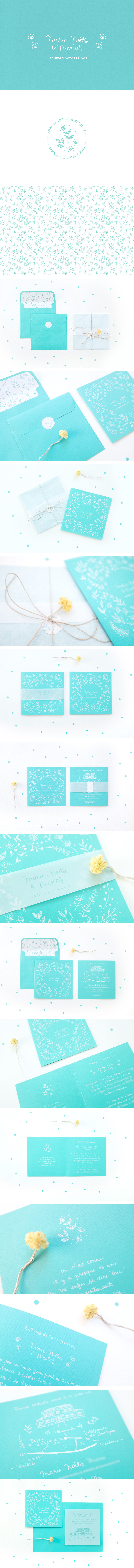 Chic-boho-custom-illustrated-wedding-invitation
