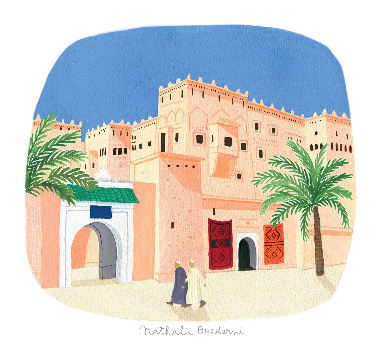 Morocco illustration