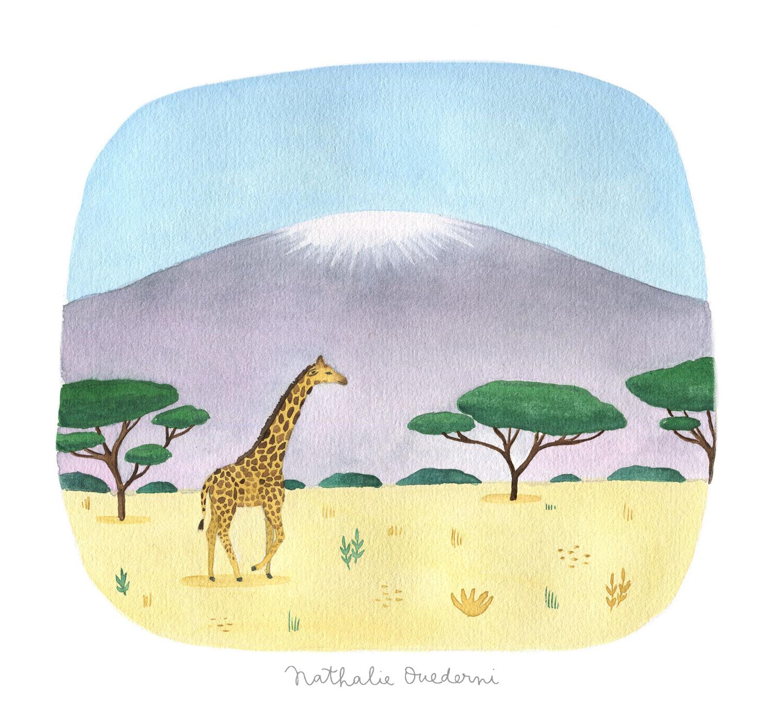 Tanzania illustration