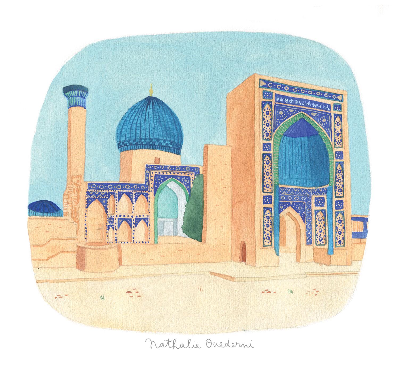 Uzbekistan illustration