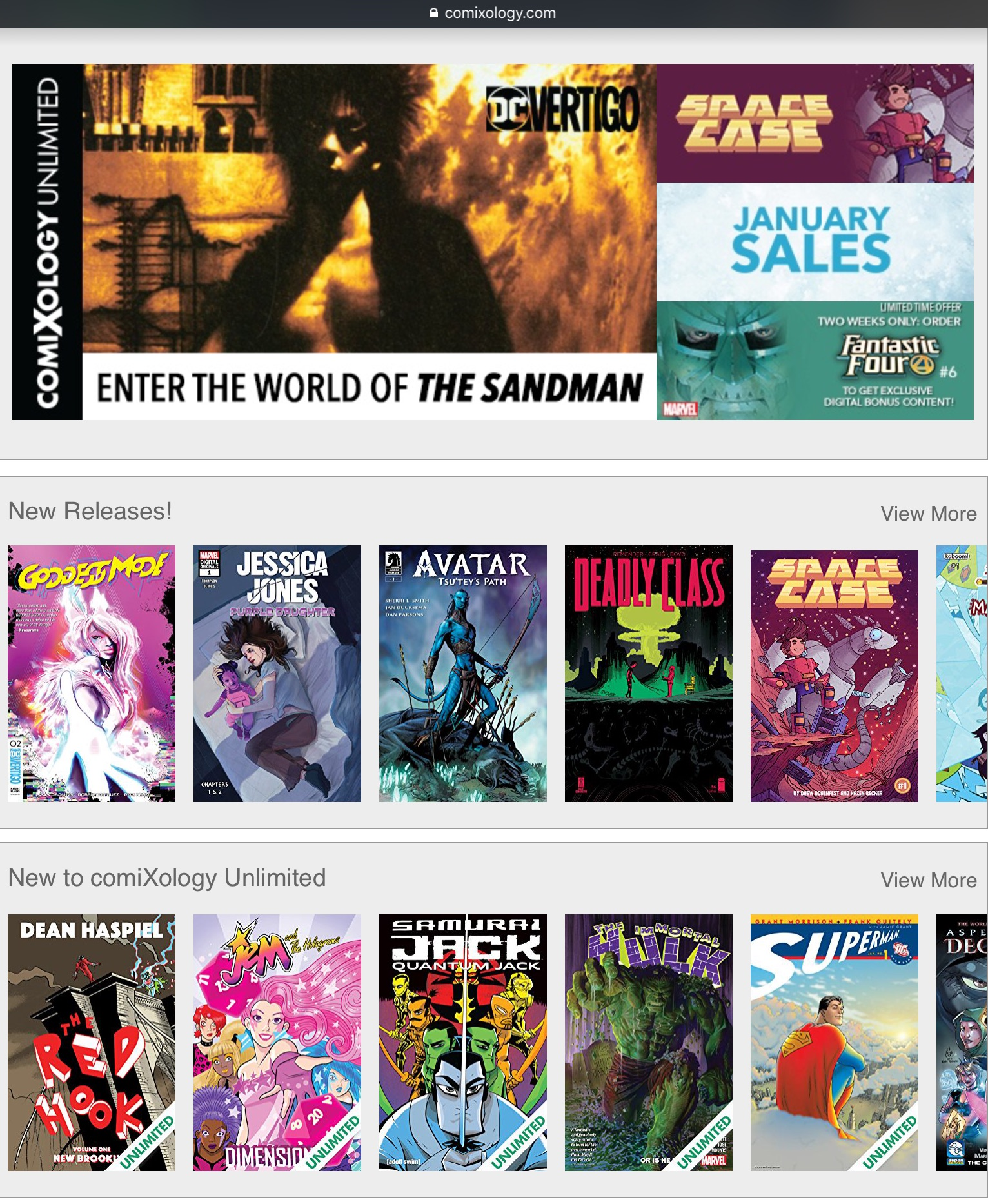 Digital Comics - The best comics in the world at your fingertips.