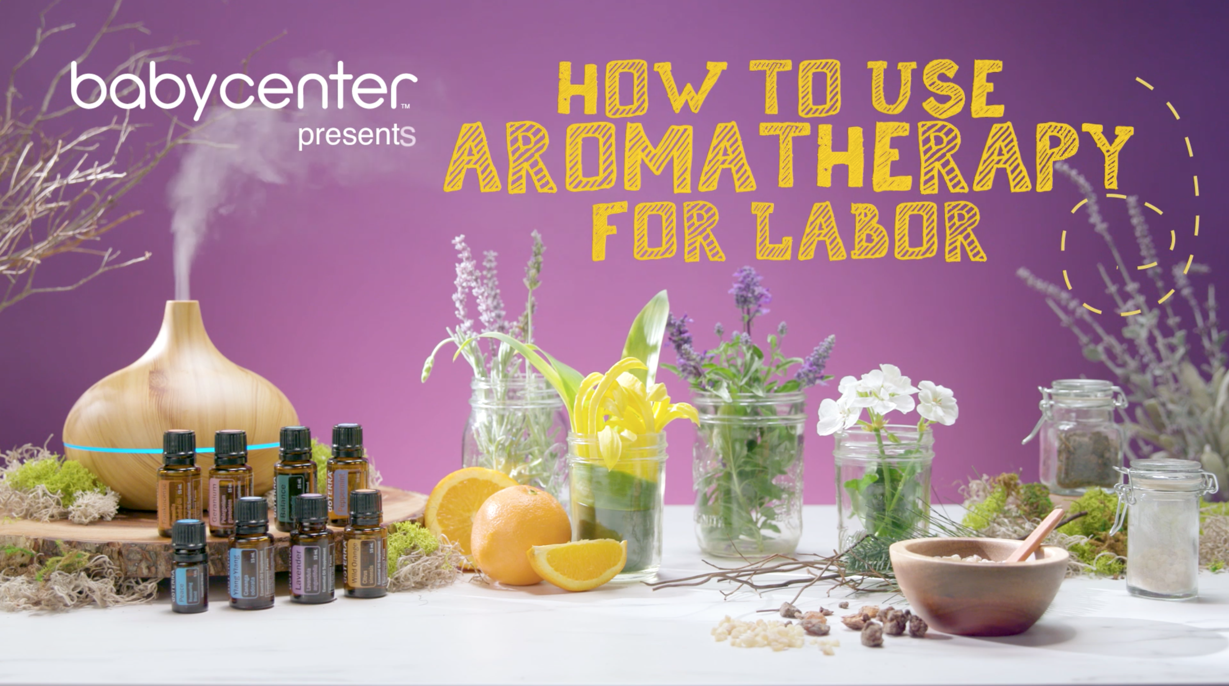 HOW TO USE AROMATHERAPY DURING LABOR