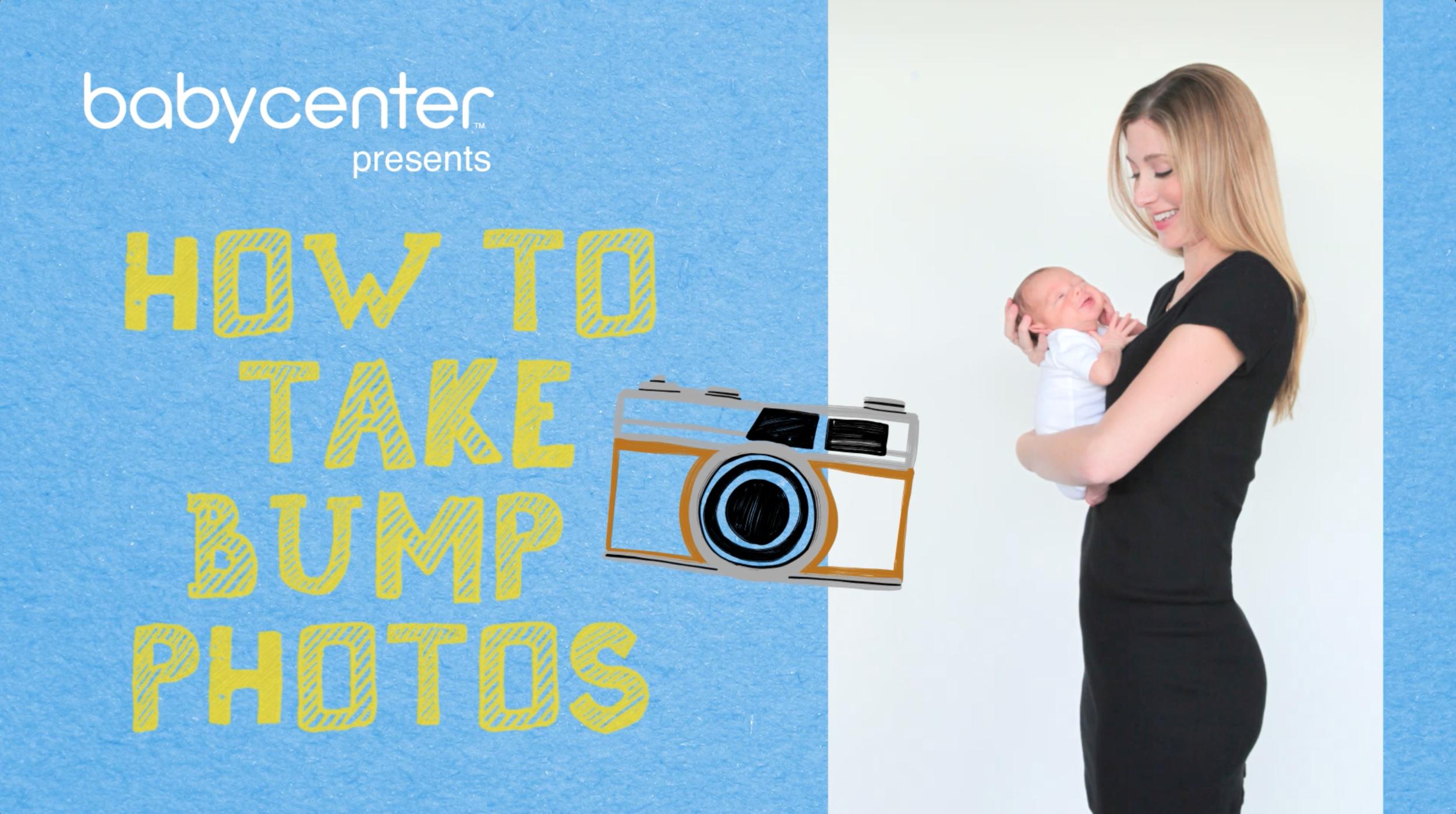 HOW TO TAKE BUMP PHOTOS