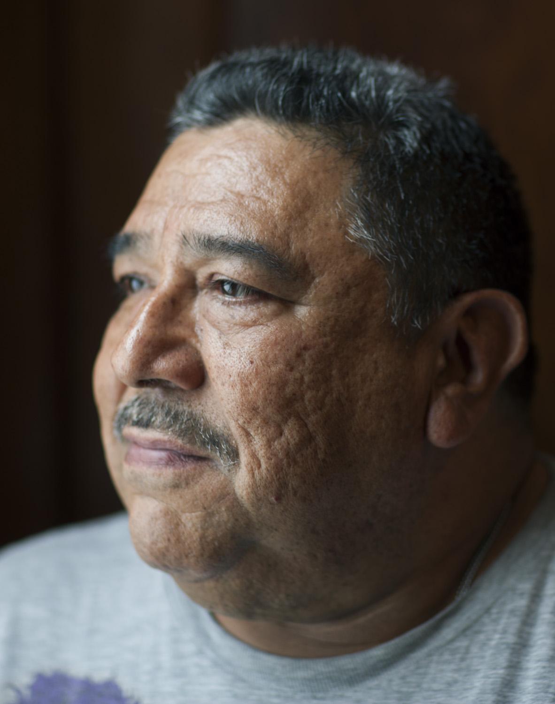 Arturo Sentano, activist, Southeast Chicago, 2015. Terry Evans