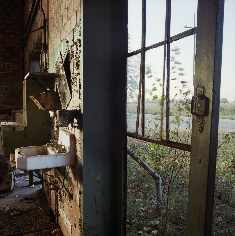 Furnace room (sink), east side, October 1996