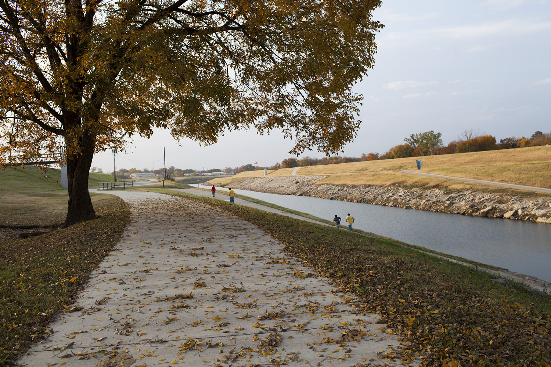 Running, West Fork near White Settlement Road, Trinity River, November 21, 2013. Terry Evans