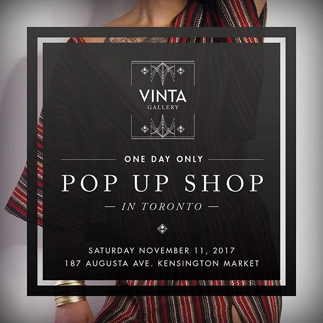 Missed your chance at snagging #KulturaTO merch this summer? Join us at @vinta_to's pop up shop at @187augusta on Nov 11 and pick up a limited edition Kultura tote bag and t-shirt! We'll also be serving some hot cider to keep you warm while you shop! ***VINTA is a business that was incubated at Kapisanan as a social enterprise. #popupshop #toronto #filipino #filipinx #kensingtonmarket #slowfashion #diaspora #filipinofestival #shoplocal // #Repost @vinta_to ・・・ POP-UP SHOP ALERT 🚨  2 WEEKS FROM TODAYY! Saturday November 11, 2017 - 11am - 8pm | we are popping up @187augusta in Kensington Market, Toronto! End of season SALE, sample SALE, get measured up for bespoke Barong or couture garments, and of course touch, feel, try on (and purchase) our new collection! . . . #vintaTO #holidayshopping #popupshop #toronto #torontofashion #barongtagalog #filipiniana #modernfilipiniana #filipiniana #saletoronto #samplesaletoronto #philippinehandicrafts #slowfashion #ethicalfashion  #modernterno #butterflysleeves #torontopopup