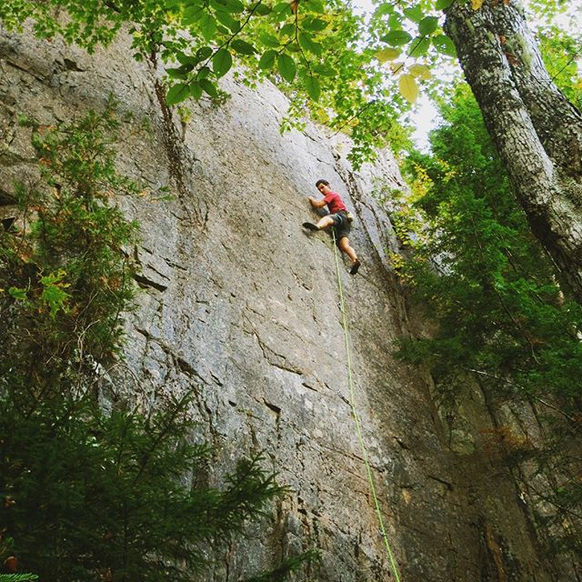 Psyched on Send-tember!  #rockclimbsofacadia