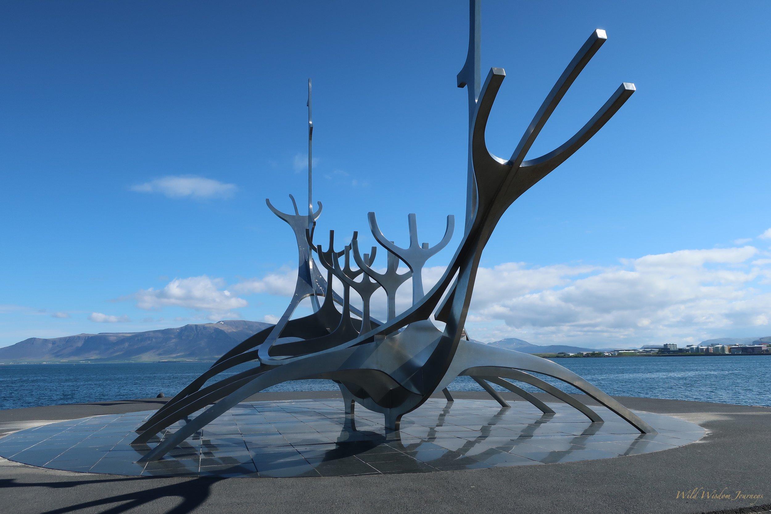 📷: Sun Voyager - Reykjavik, Iceland