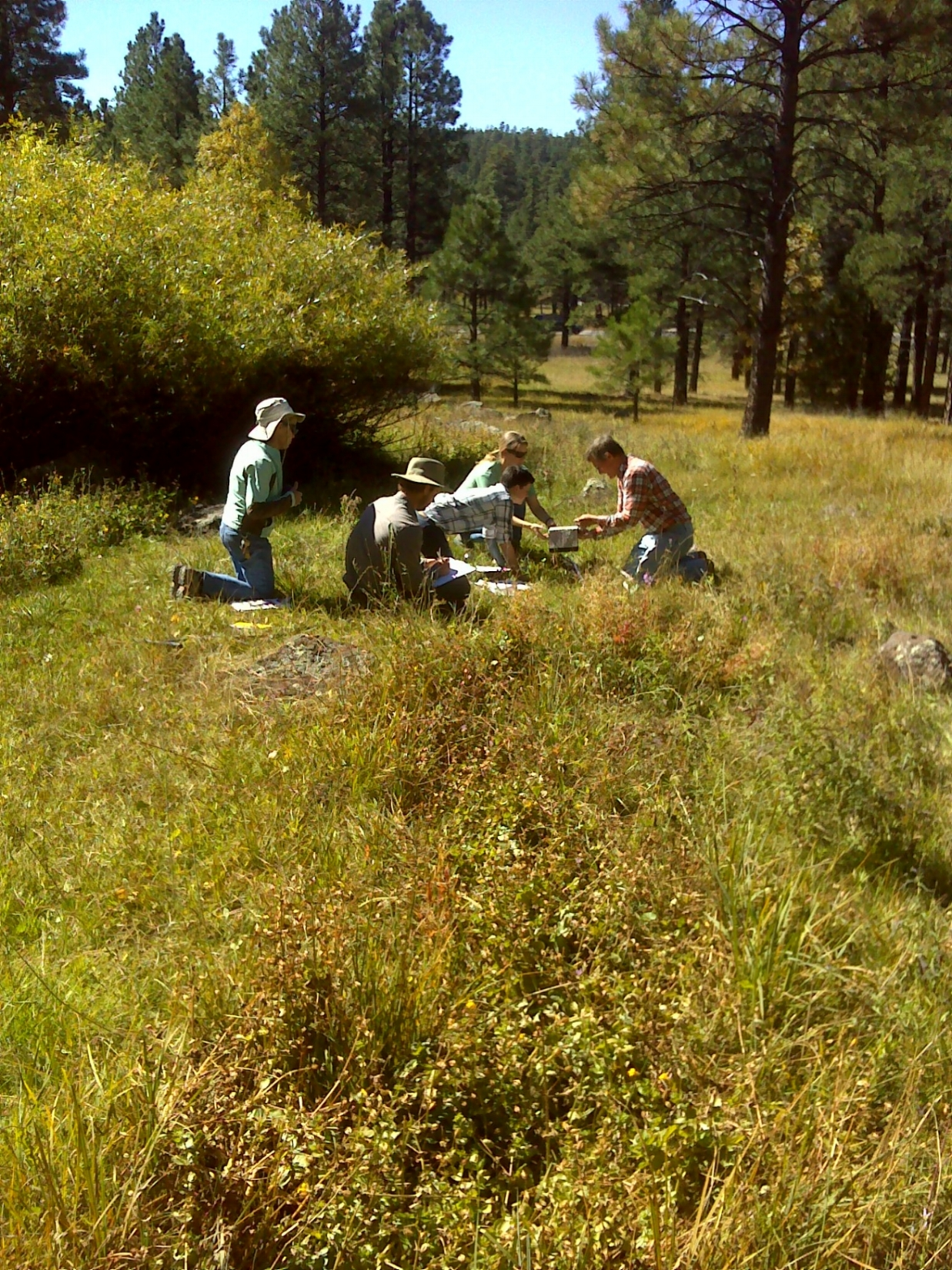 Coyote Springs makes a great classroom.