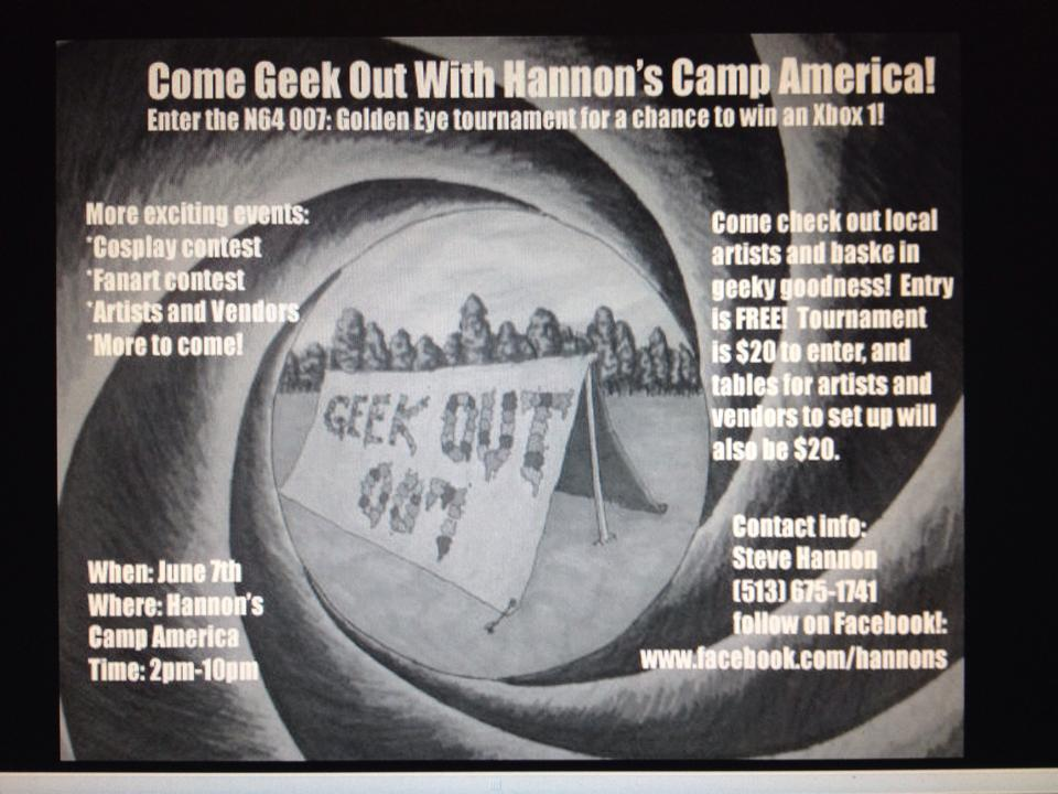 Geek Out: 007 2014 (First Year)