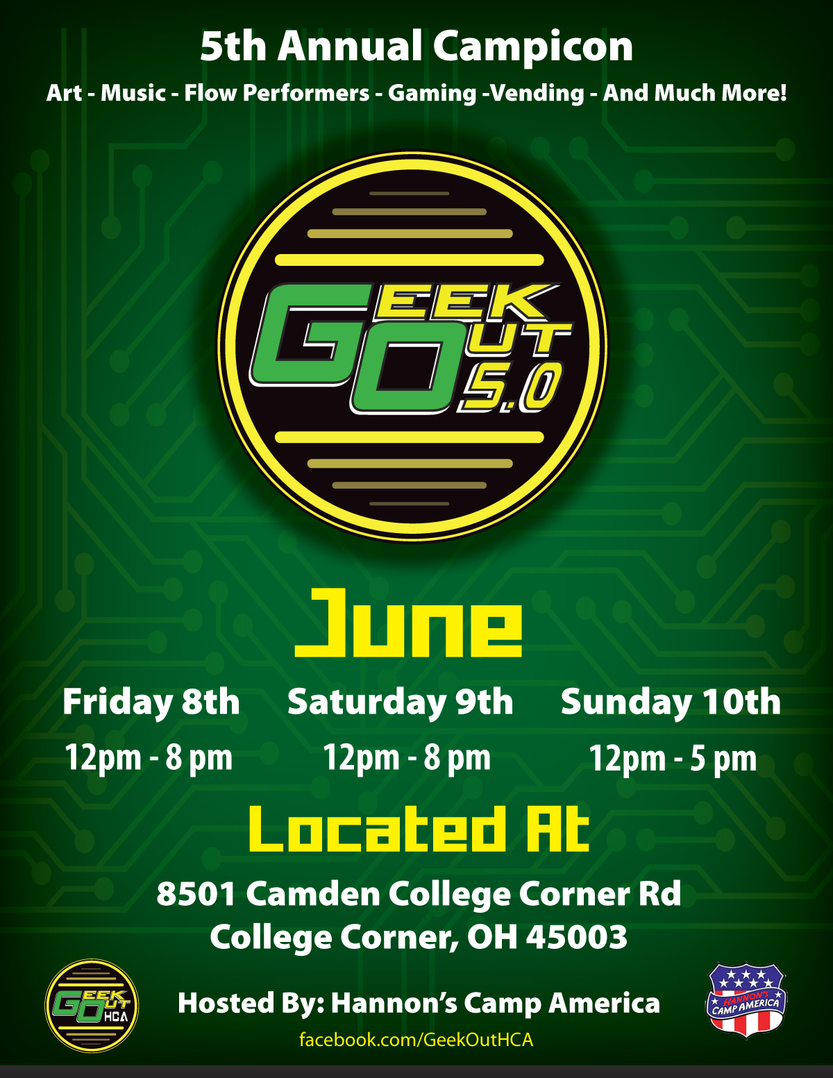 Geek Out 5.0 2018