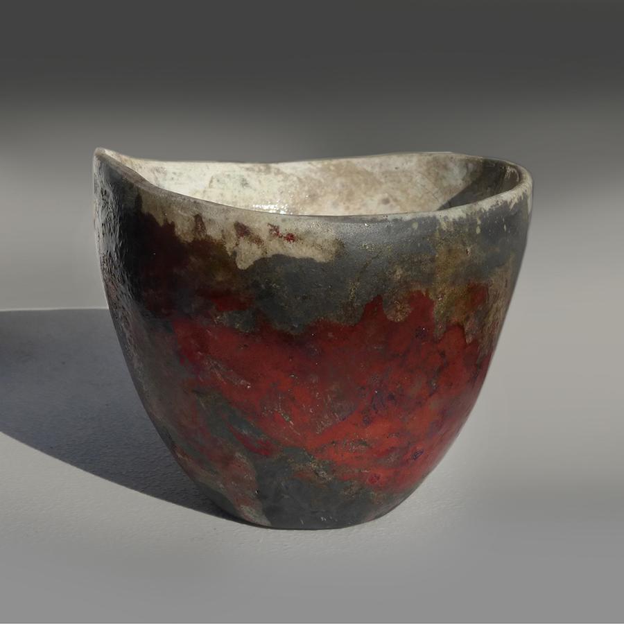Raku Bowl #6