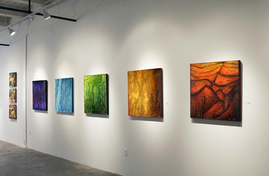 Fields of Light , Solomon Dubnick Gallery, 2008