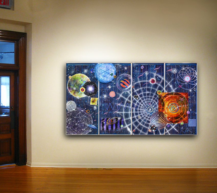 Disconnecting the Dots,  Morris Graves Museum, 2014