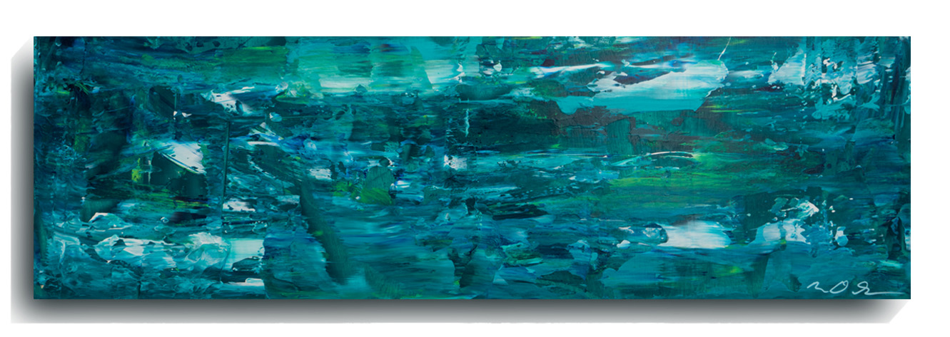 Shards Panoramic 03, 2015, Acrylic Painting by Mark Sivertsen of SivertsenArt.com