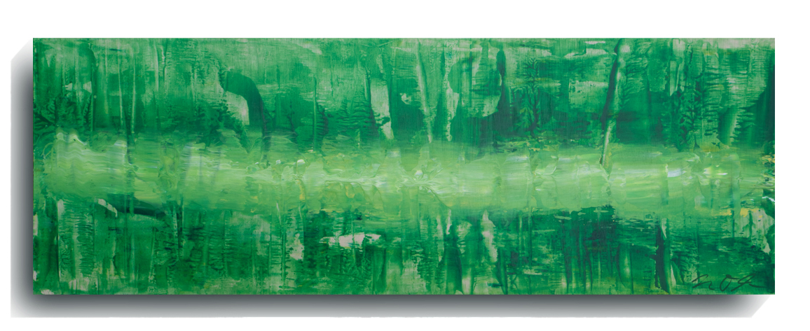 Beam     Panoramic     02,    2015, Acrylic on wood panel, 12 x 36 inches, $495        Contact Mark Sivertsen