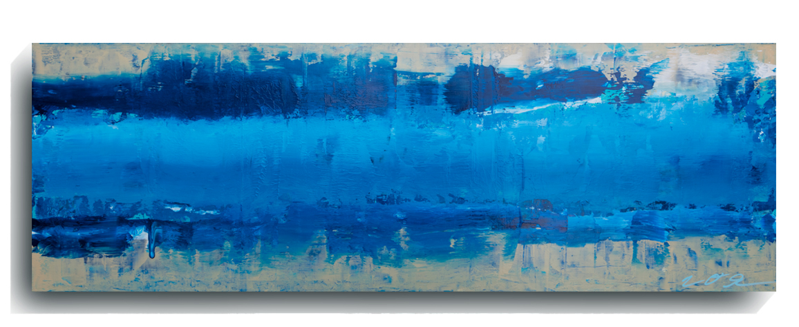 Beam     Panoramic     01   , 2015, Acrylic on wood panel, 12 x 36 inches, SOLD -   AVAILABLE FOR PRINTS         Contact Mark Sivertsen