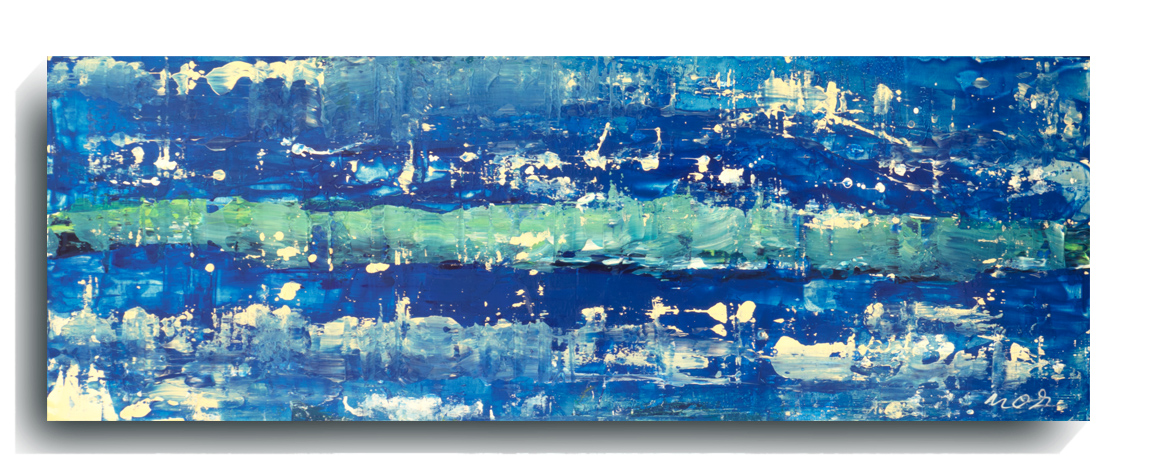 Beam     Panoramic     04,    2016, Acrylic on wood panel, 12 x 36 inches, $495        Contact Mark Sivertsen