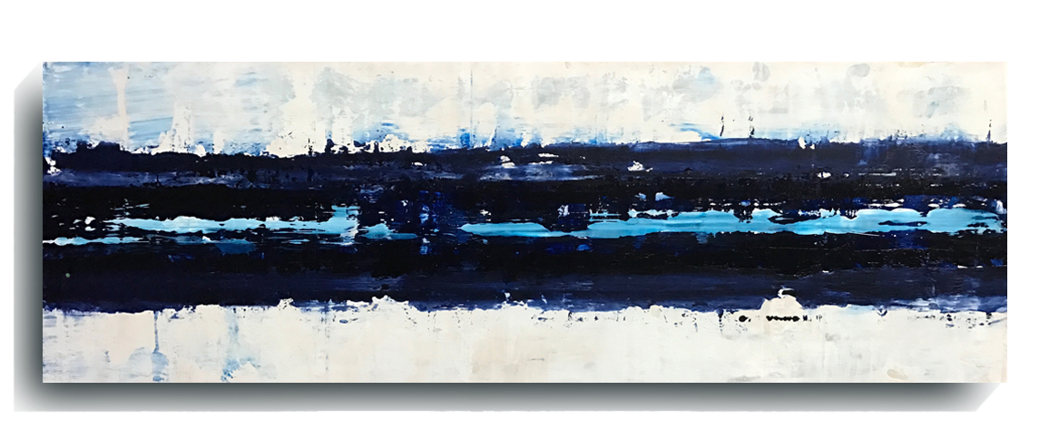 Beam     Panoramic     07,    2016, Acrylic on wood panel, 12 x 36 inches, $495        Contact Mark Sivertsen