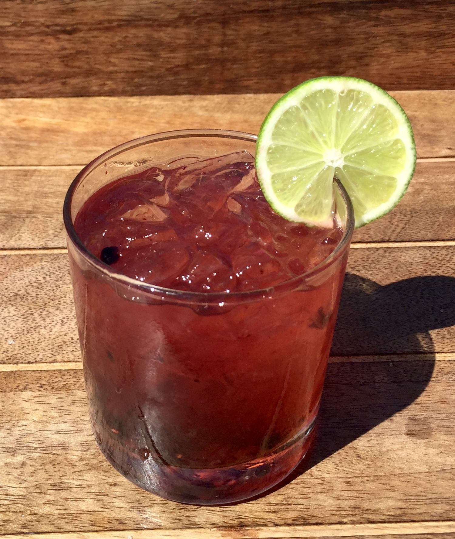 Blackberry Agave Margarita