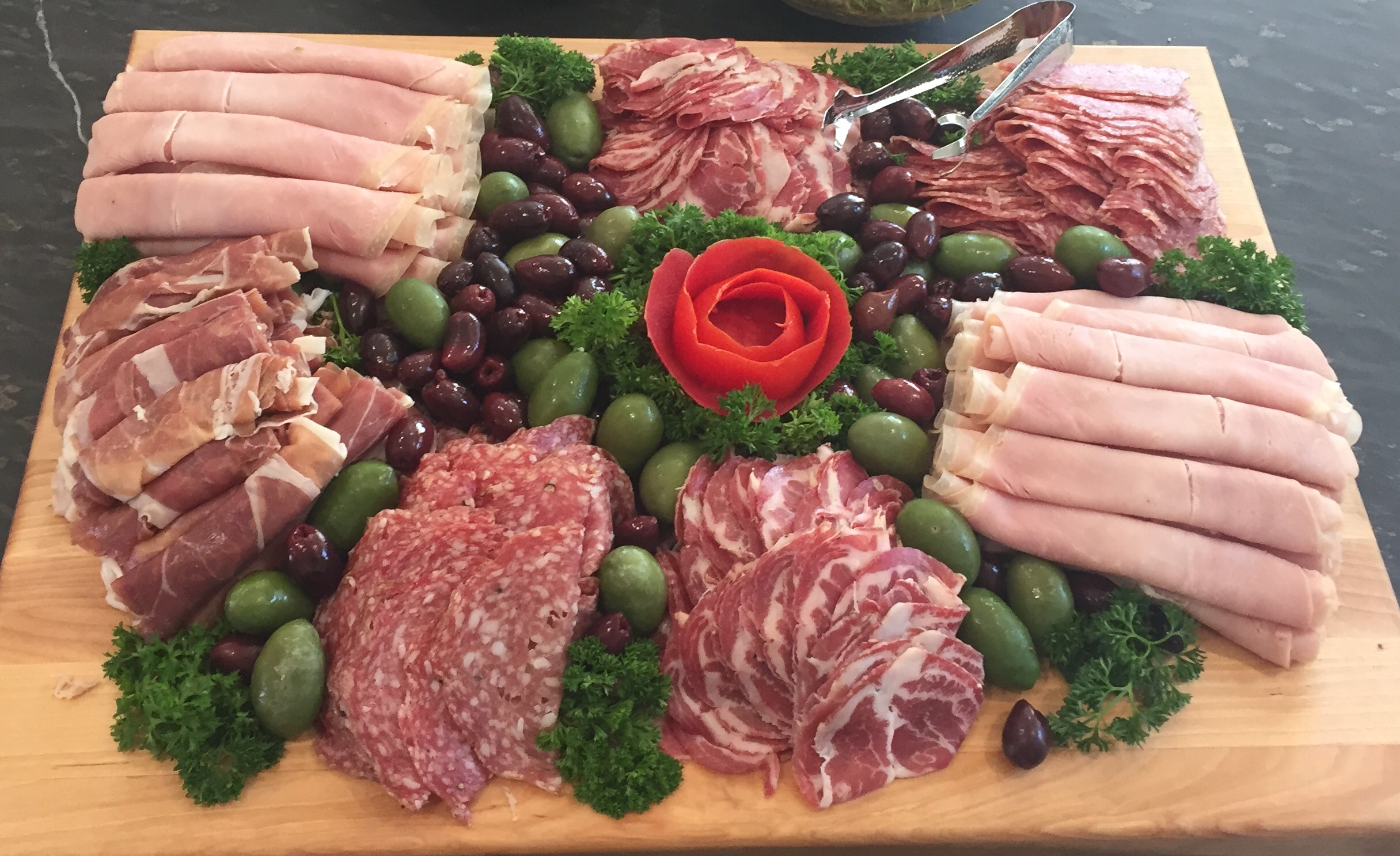 Charcuterie: imported or deli