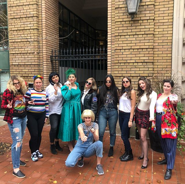 Halloween Theme: dress like an iconic character from a movie or television show that was released the year you were born, and we nailed it! #happyhalloween . . . #pr #prlife #instagood #picoftheday #halloween #bestteamever #agencylife