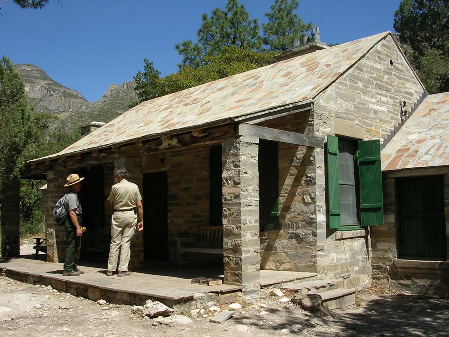Wallace Pratt cabin. No AC, no Wi-Fi, no attached garage. An amazing tale of hardship and survival.
