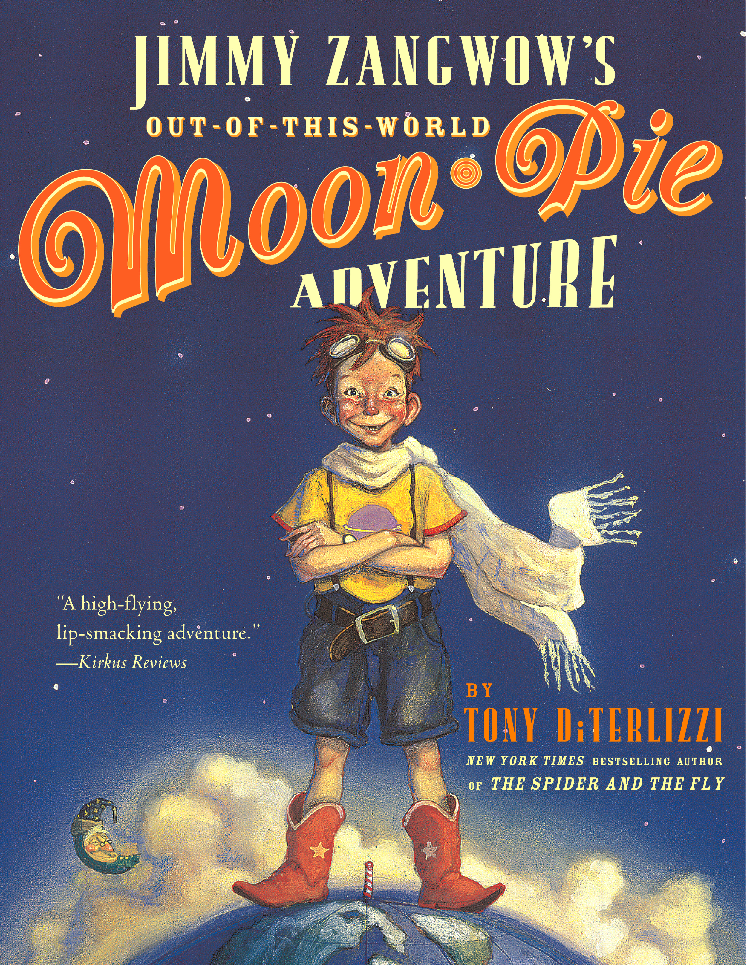 We had no idea someone had written a book about moon pies. We had no idea anyone outside of a few people living in trailers knew what a moon pie was.