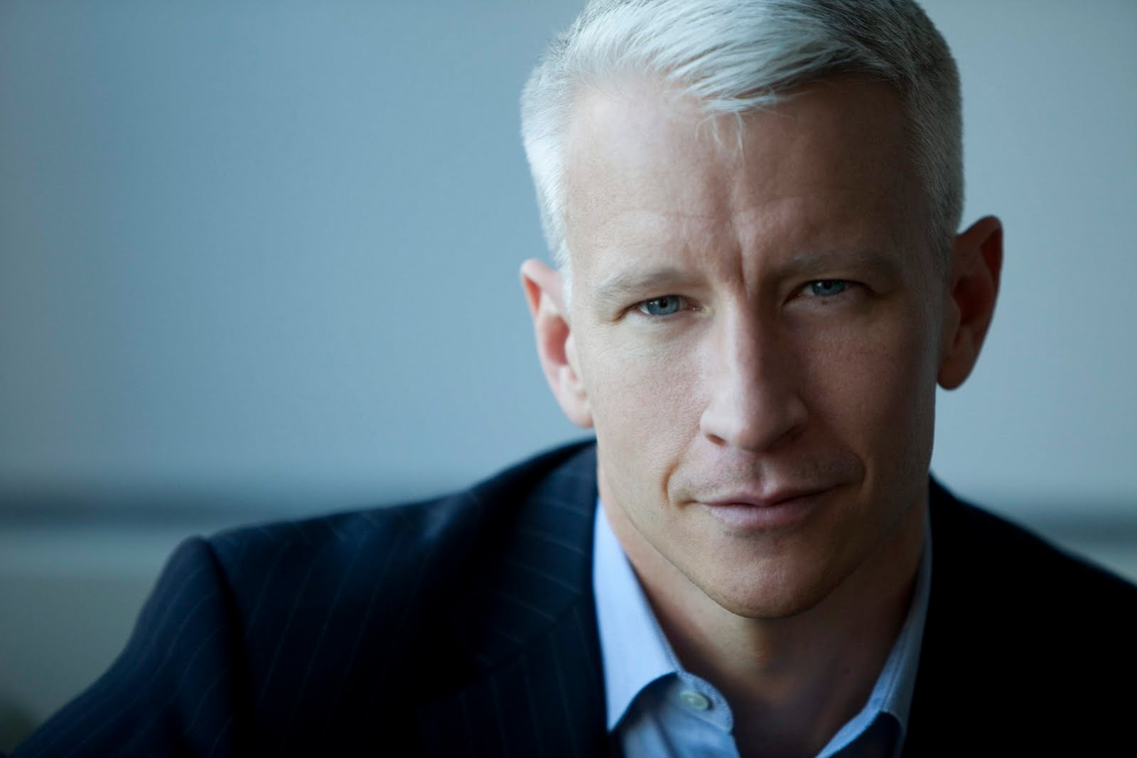 Anderson Cooper, AKA Coop. Gets a hair cut every 8 hours. Only wears Vanderbilt jeans when not on set.
